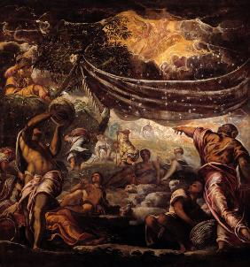 Tintoretto / The Manna Harvest