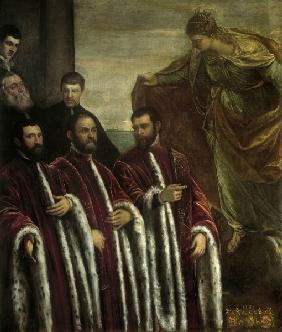 Tintoretto / Treasurers & St.Justina