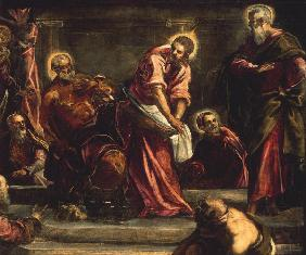 Tintoretto / Washing of the Feet