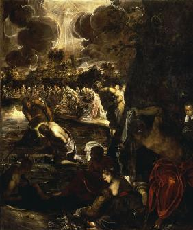 Tintoretto, Baptism of Christ