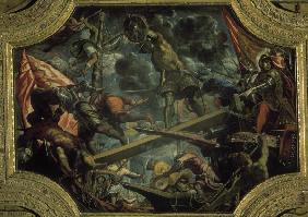 Tintoretto, Conquest of Riva 1440