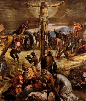 Tintoretto, Crucifixion, Detail