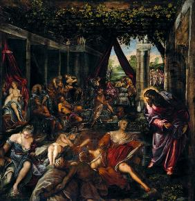 Tintoretto, Healing Sick in Bethesda