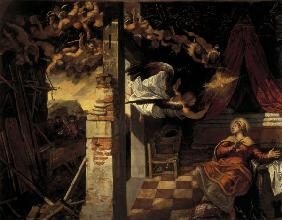 Tintoretto, Virgin s Annuncation