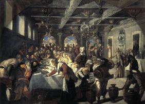 Tintoretto/ Wedding at Cana