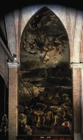 Tintoretto, Worship of Golden Calf