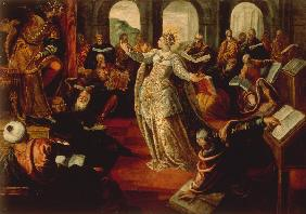 Tintoretto/St. Catherine & Philosophers
