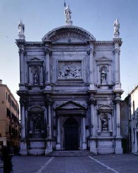 The Facade, designed by Bartolommeo Bon, Sante Lombardo and completed by Scarpagnino (1465/70-1549)