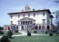 The Medici Villa designed by Giuliano da Sangallo (c.1443-1516) for Lorenzo the Magnificent, 1480 (p 13th