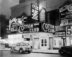 The Cotton Club in Harlem, New York
