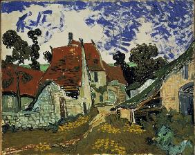 v.Gogh / Village street in Auvers / 1890
