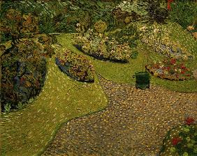 V.v.Gogh, Garden in Auvers / painting