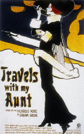 Voyages avec ma tante TRAVELS WITH MY AUNT de George Cukor avec Maggie Smith 1972