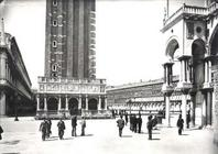 View of Piazza San Marco and the Loggetta from the Porta della Carta (b/w photo) 1895