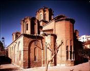 View of the exterior from the east, founded by the Patriarch Niphon, c.1310-14 (photo)