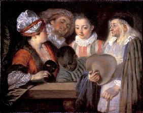 Watteau / Return from the Ball