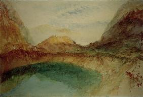 W.Turner, Lake in the Swiss Alps/Waterc.