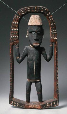 Figure from Canoe House, Solomon Islands