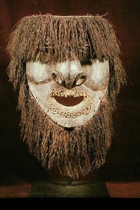 Water Spirit Mask or 'Apuema' mask, from New Caledonia