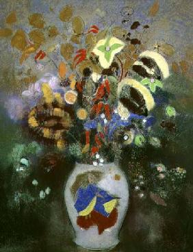 Still Life of a Vase of Flowers