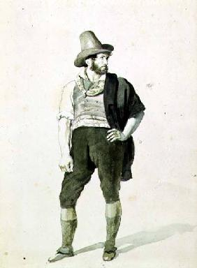 The Young Italian c.1834