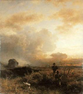 Clearing Thunderstorm in the Countryside 1857