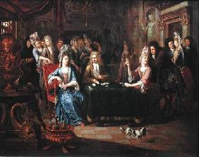 The Card Players 1699