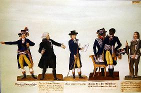 Deputies of the National Convention, Mirabeau and Deputy Granet. c.1794-5