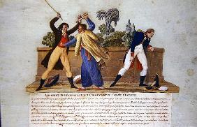 The Assassination of General Kleber by a Fanatic, 14th June 1800