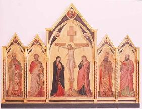 Crucifixion with Saints 1310