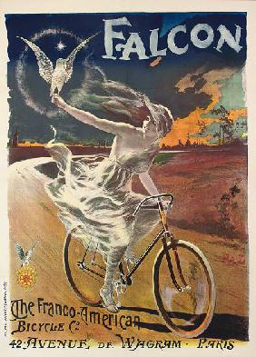 Poster advertising Falcon bicycles c.1894