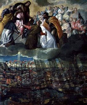 Allegory of the Battle of Lepanto 7th Octobe