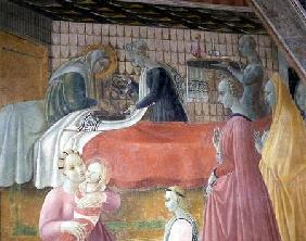 Birth of the Virgin, from the Chapel of the Assumption 1440