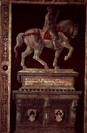 Equestrian Monument of Sir John Hawkwood (1320-94) 1436