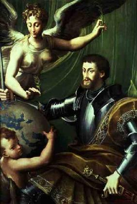 Emperor Charles V (1500-58) Receiving the World c.1529