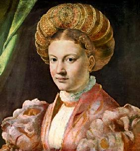 Portrait of a young woman, possibly Countess Gozzadini c.1530