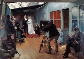 Wedding at the Photographer's 1878-9