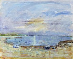 St. Martin''s Bay, Scilly Isles, 1996 (oil on canvas)