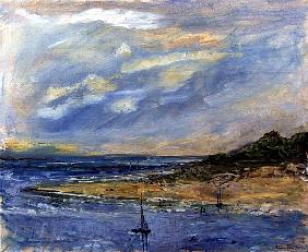 View from Tresco, 1997 (oil on canvas)