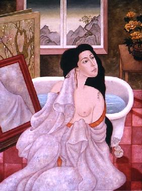 After the Bath, 1999 (oil on canvas)