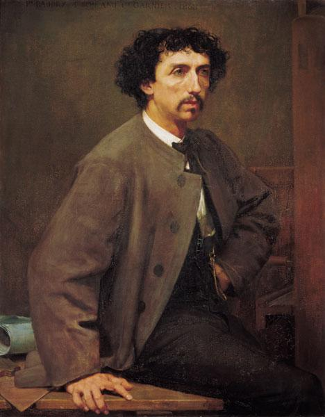 Portrait of Charles Garnier, a friend of the artist 1868