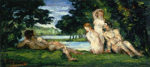 Bathers, Male and Female