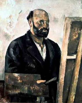 Self Portrait with a Palette 1885-87