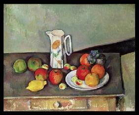 Still life with milkjug and fruit c.1886-90