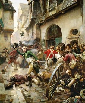 Henri de La Rochejaquelein (1772-94) at the Battle of Cholet 17th Octob