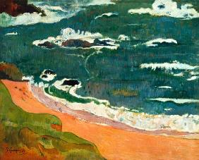 Paul Gauguin - Strand bei Le Pouldu. (Collection Henry Ford II.)