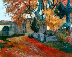 Paul Gauguin - Die Alyscamps in Arles.