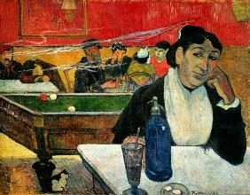 Paul Gauguin - Nachtcaf� in Arles