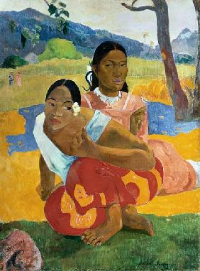 Paul Gauguin - Nafea Faaipoipo (When are you Getting Married?)
