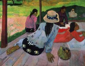 Paul Gauguin - La Sieste